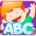 Education letters ABC for kids icon