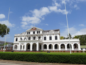 Photo: Paramaribo - Presidential Palace