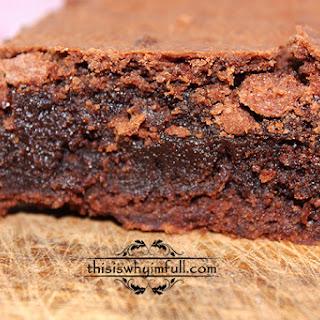 Chocolate Fudge Brownies.
