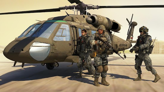 Air Force Shooter 3D - Helicopter Games Screenshot