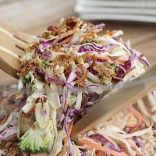 Coleslaw With Wasabi Dressing