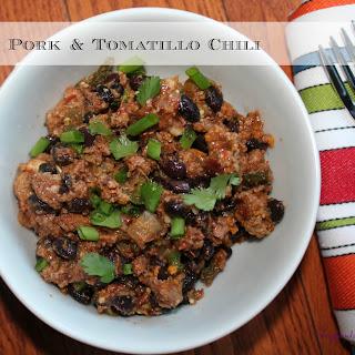 Pork and Tomatillo Chili