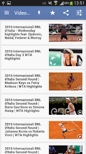 Tennis Live Score - náhled