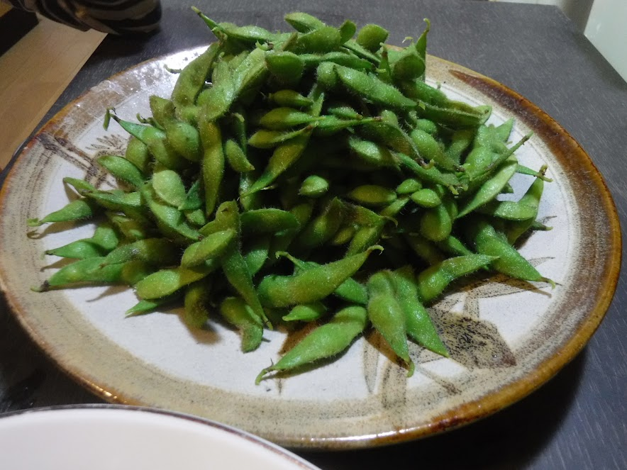 10/6 青山在来大豆、味が乗ってきて最高!