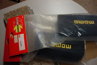 Photo: lumbar support pads for momo start racing seats.  $23 ea