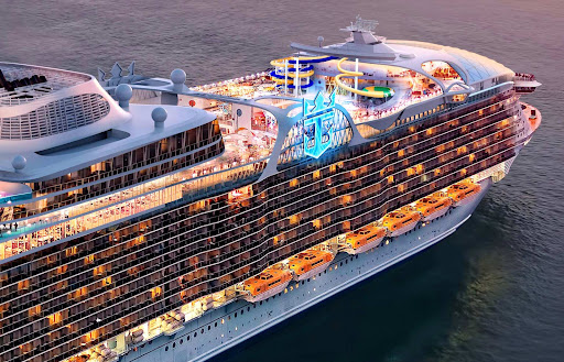 wonder-of-the-seas-forward.jpg - When it launches in 2022, Wonder of the Seas will be the world's largest cruise ship, based in China.