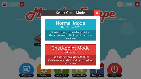 Missile Escape 1.4.0 MOD (Unlimited Money) 3