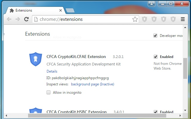 CFCA CryptoKit.CFAE Extension