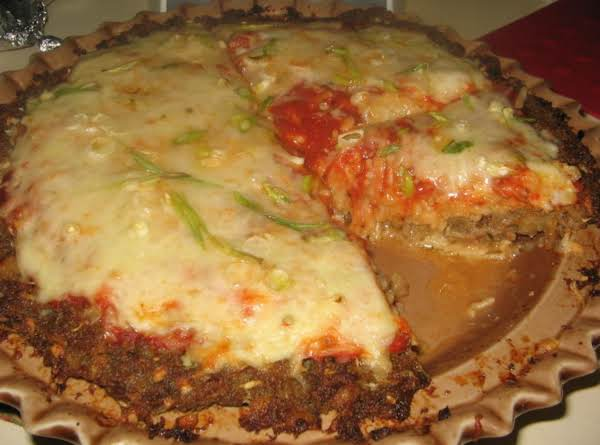Pizza Spaghetti Pie Recipe