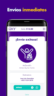 Download OKY Send Gift cards to Latin America For PC Windows and Mac apk screenshot 6