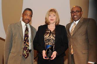 """Photo: """"Sharing the Dream in Education"""" winner AISD Music Specialist Jacque Hall"""