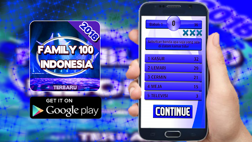 Super Kuis Family 100 Indonesia 2018 1.0.0 screenshots 1