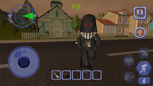 Scary Clown Sponge Vader Neighbor. Escape apkdebit screenshots 4
