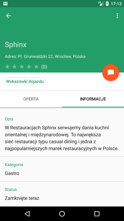 oMap.pl- screenshot