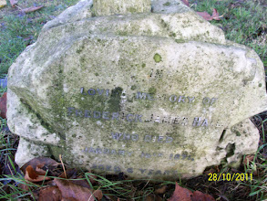 Photo: 48-Frederick James Hall, died January 18th 1871, aged 6 years