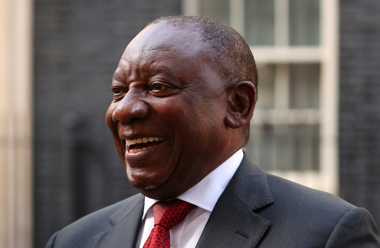 President Cyril Ramaphosa is trying hard to style himself as the 'everyman', a conscious break from the 'strongman' image that his predecessor perfected.