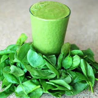 Double Green Matcha Smoothie.