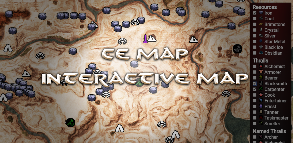 conan exiles carte interactive CE Map   Interactive Conan Exiles Map 2.1 Apk Download