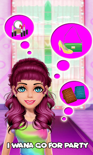 Cute Girl Makeup Salon Games: Fashion Makeover Spa 1.0.0 Screenshots 4