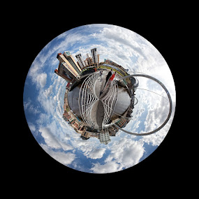 Gateshead Little Planet by Phil Portus - City,  Street & Park  Skylines ( pwcskylines )