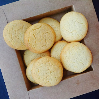 Condensed Milk Cookies.
