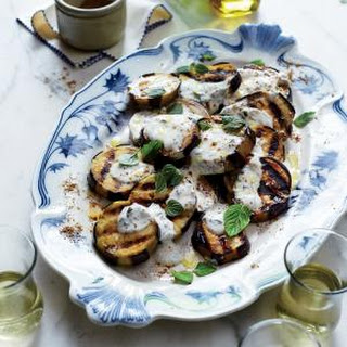 Grilled Eggplant with Moroccan Spices (Aubergines à la Marocaine).