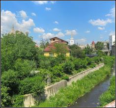 Photo: Turda, Str. Bogdan Petriceicu Hasdeu, Muzeul de Istoriei, vedere din curte - Paraul Racilor - 2018.05.24