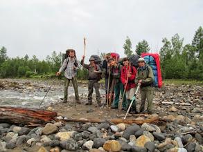 Photo: Команда на старте (на берегу реки Ехэ-Гэр)