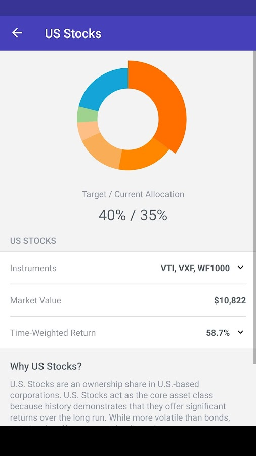 Wealthfront- screenshot