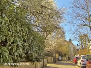 Photo: Petite ruelle de Meudon - e-guide balade à vélo de Meudon au Château de Versailles par veloiledefrance.com