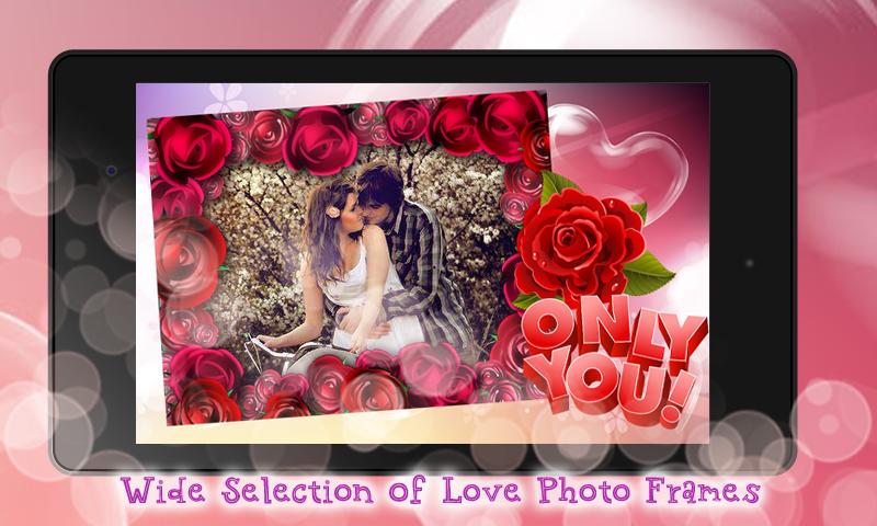 i love you photo frames maker screenshot