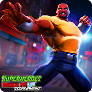 Legends Superheroes Kung Fu Fight PvP Tournament APK icon