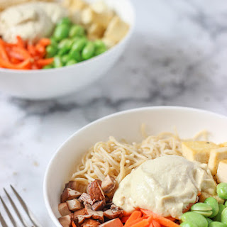 Creamy Cashew Noodle Bowl For Two.