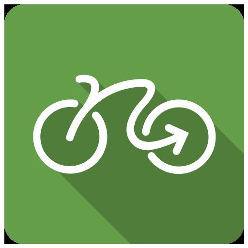 Geovelo : bike GPS Icon