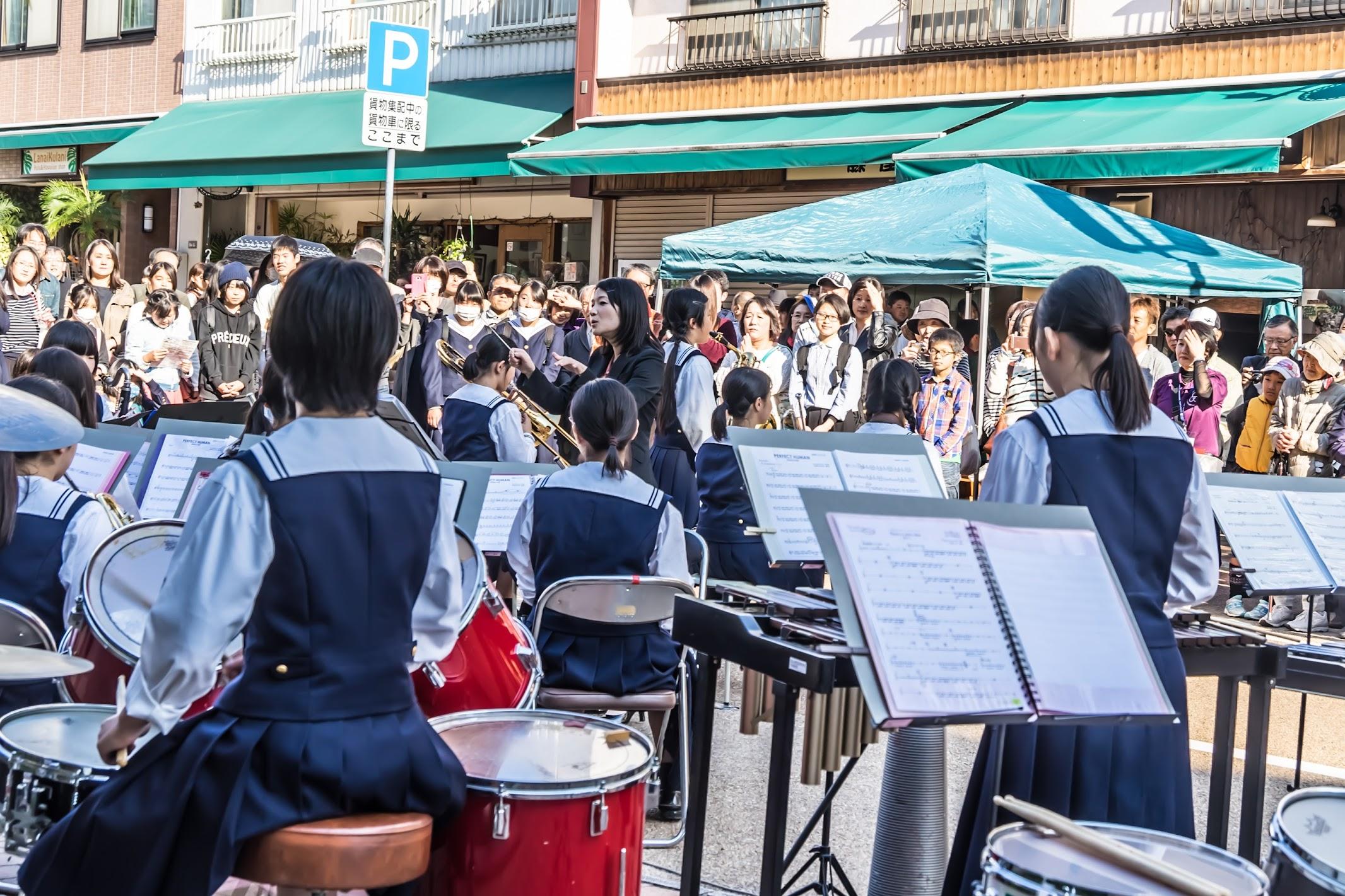 Shiroyama-monzen-matsuri Brass band