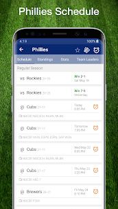 Phillies Baseball: Live Scores, Stats, Plays Games 9.0.13 Download APK Mod 1