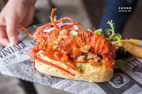 WOW美式餐廳(屏東)龍蝦堡連殼都能吃,超浮誇!聚餐必點手打漢堡