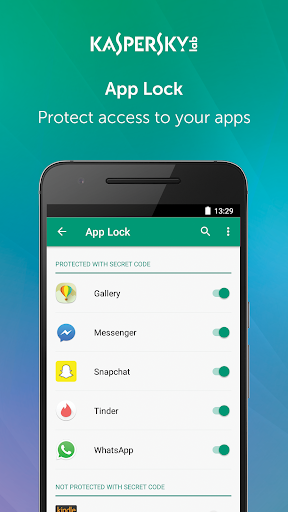 Kaspersky Mobile Antivirus: AppLock & Web Security screenshot 3