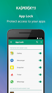 Kaspersky Mobile Antivirus : AppLock & Web Security 3