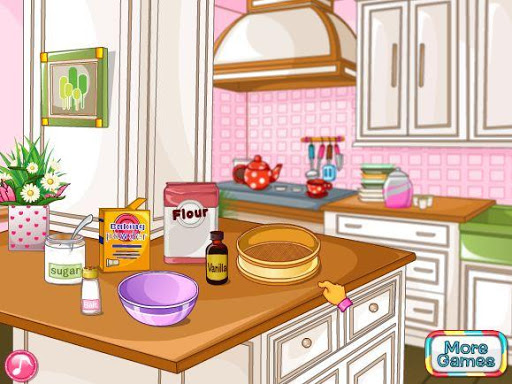 Cake Decoration -game cooking