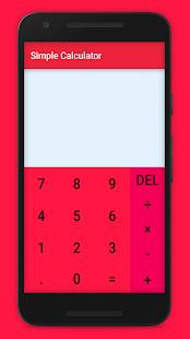 [Download Simple Calculator for PC] Screenshot 1