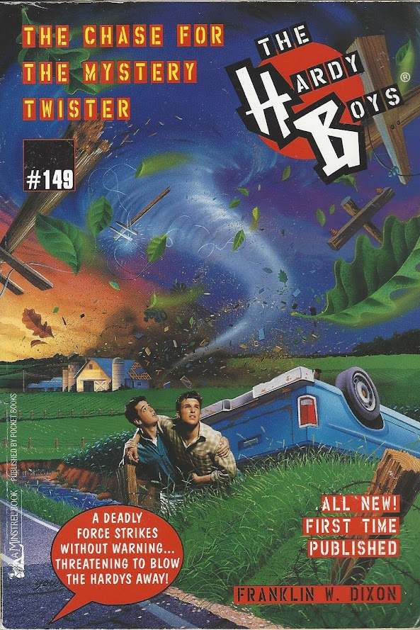 The Chase for the Mystery Twister cover