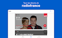 screenshot of Radio France - podcasts, direct radios
