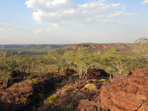 Photo: View from the top of the Escarpment Walk near the Victoria River Roadhouse