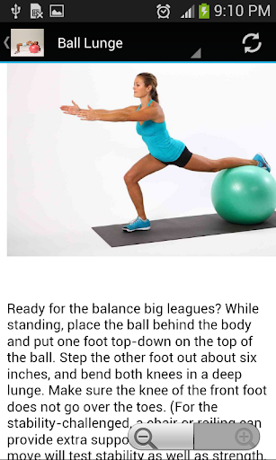 medicine ball exercises screenshot 3