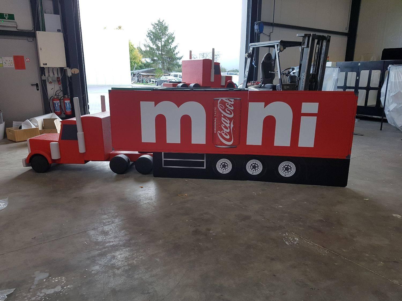 Coca Cola mini truck