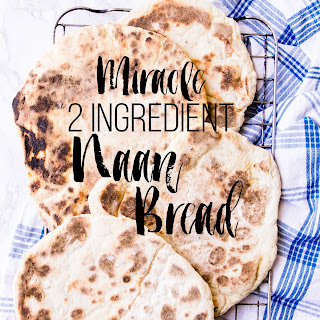 Miracle 2 Ingredient Naan Bread.
