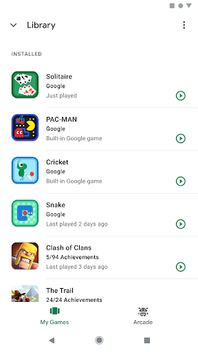Google Play Games screenshot 4