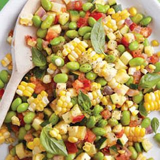 Corn And Squash Succotash.