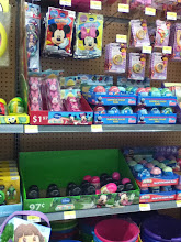 Photo: Right when I arrived, the Easter aisle greeted me.